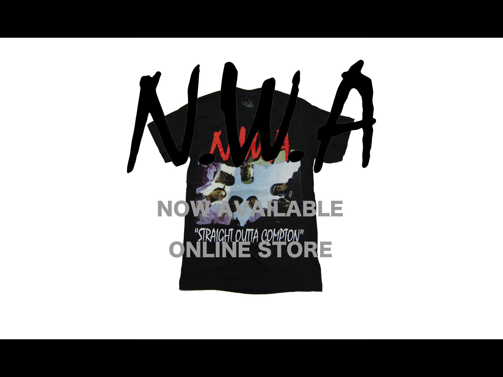 N.W.A. T-SHIRTS NOW AVAILABLE ONLINE STORE