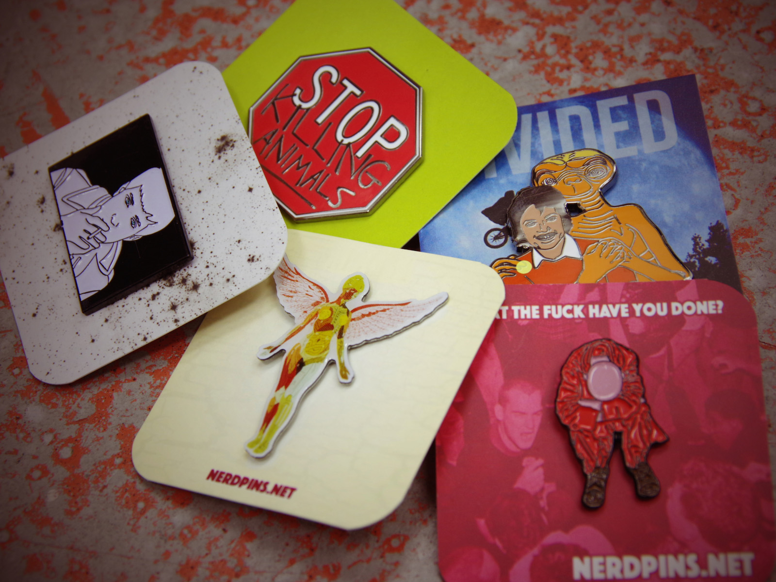 NEW ARRIVALS – NERDPINS