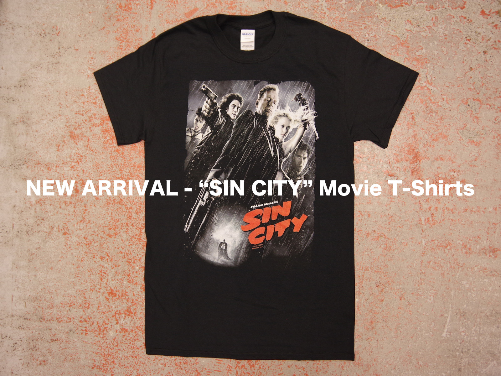 NEW ARRIVAL – SIN CITY Movie T-Shirts