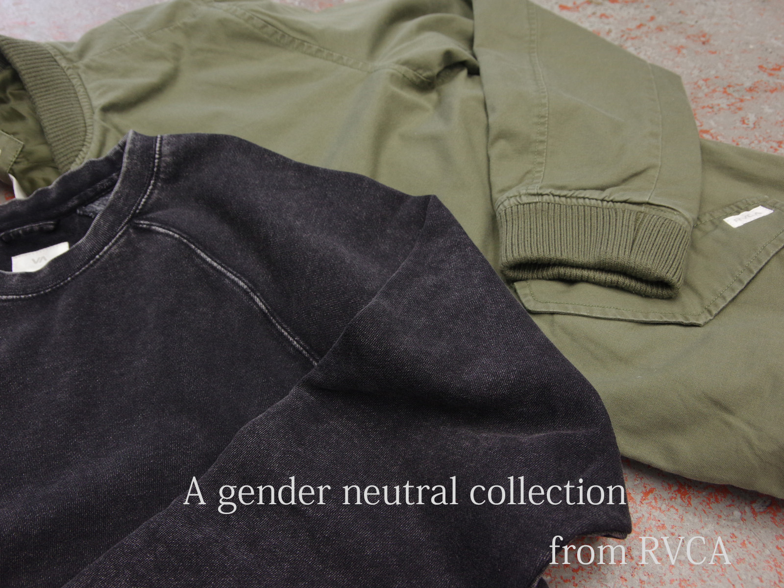 A GENDER NEUTRAL COLLECTION from RVCA