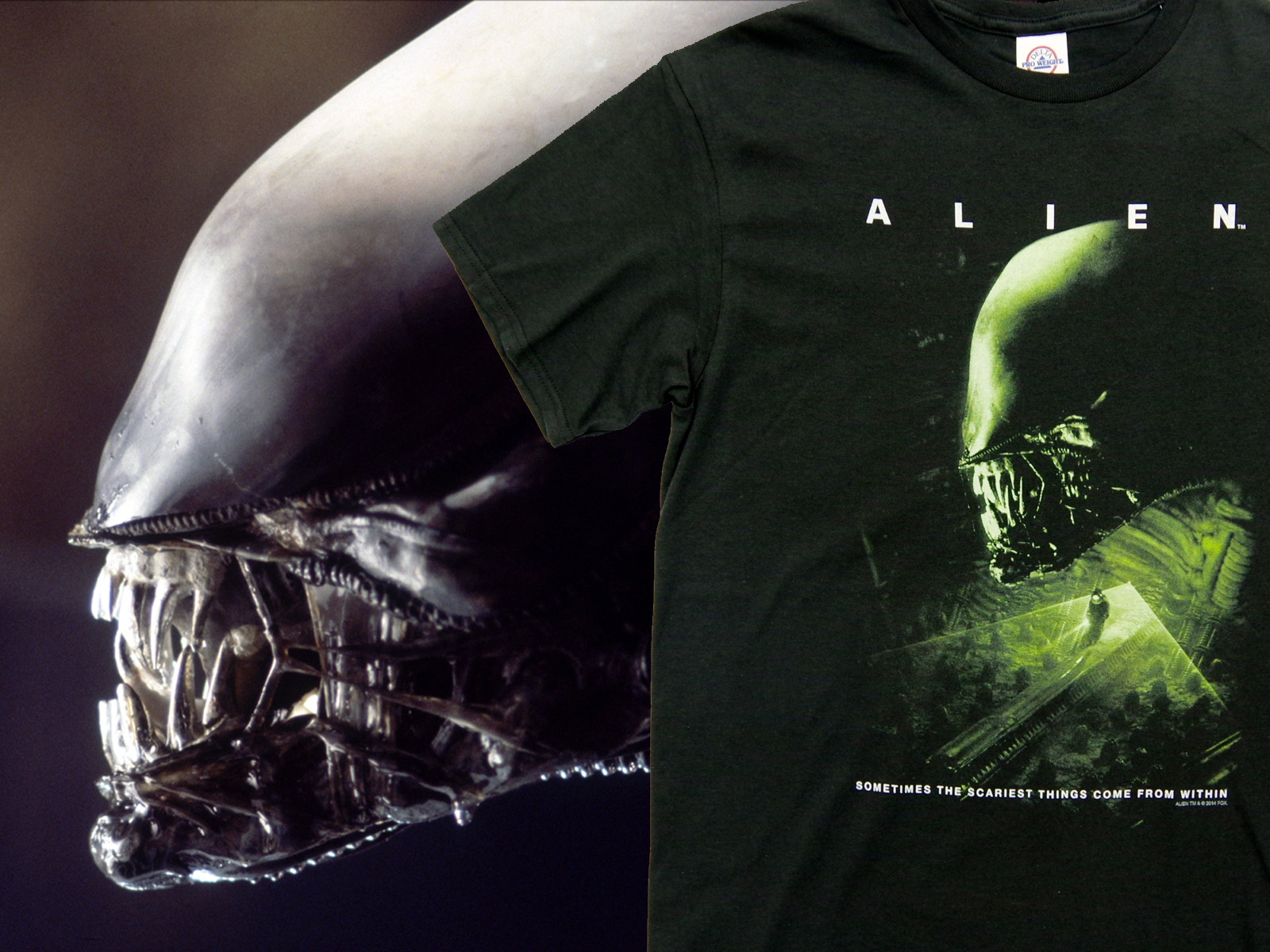 NEW ARRIVALS – ALIEN Official T-Shirts
