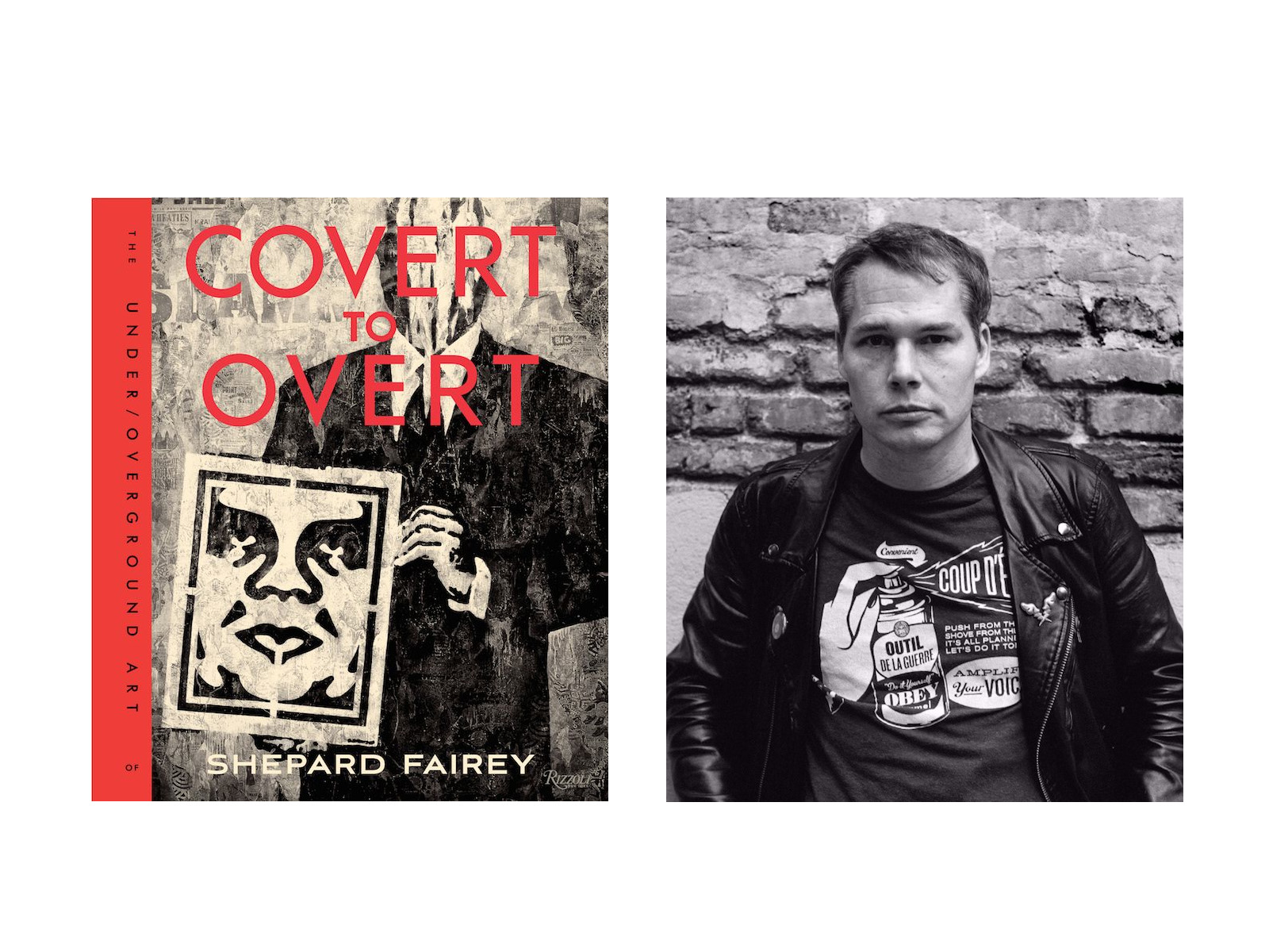 COVERT TO OVERT: The Under/Overground Art of Shepard Fairley