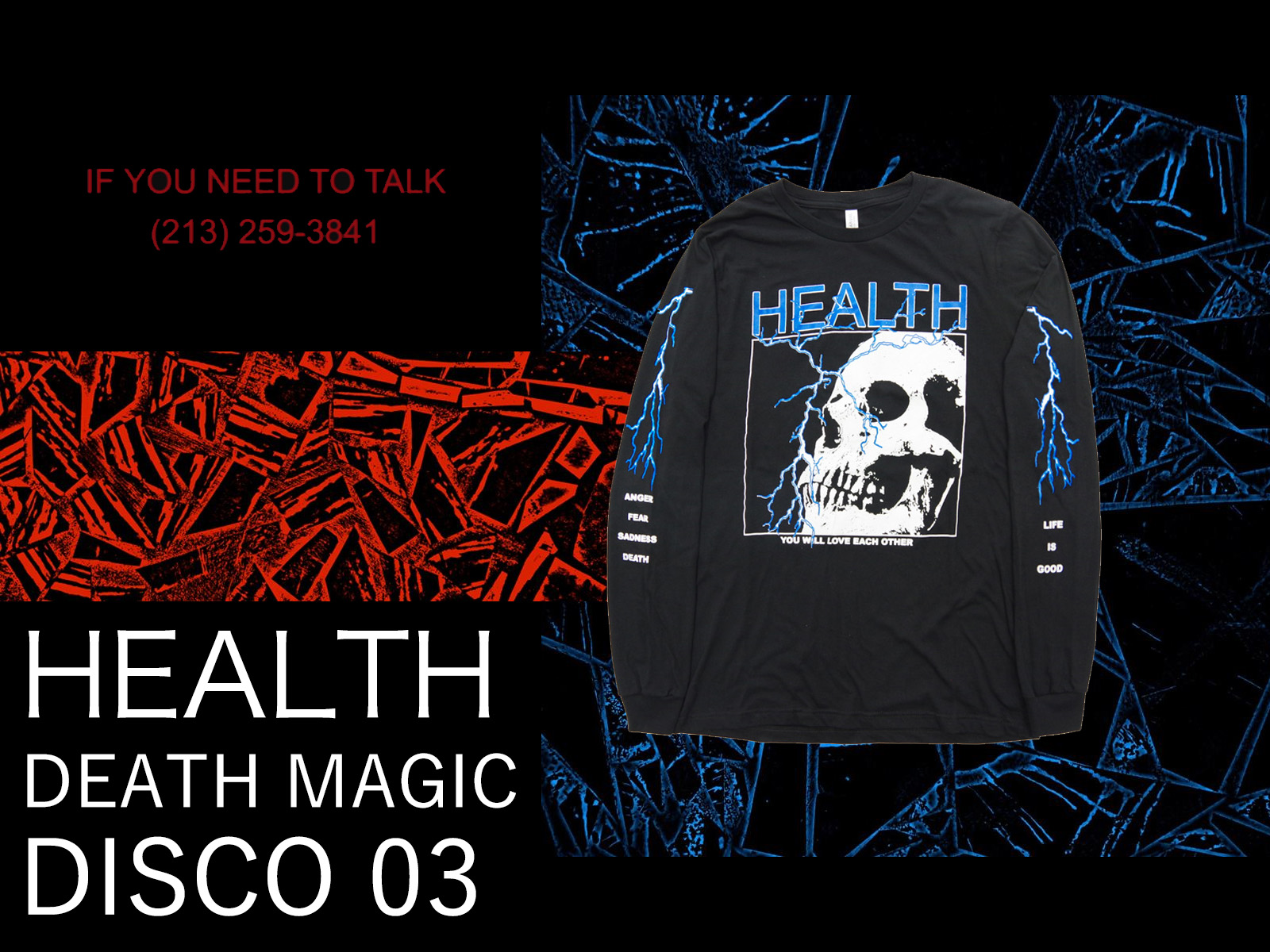 HEALTH × ALIEN BODY Official Item