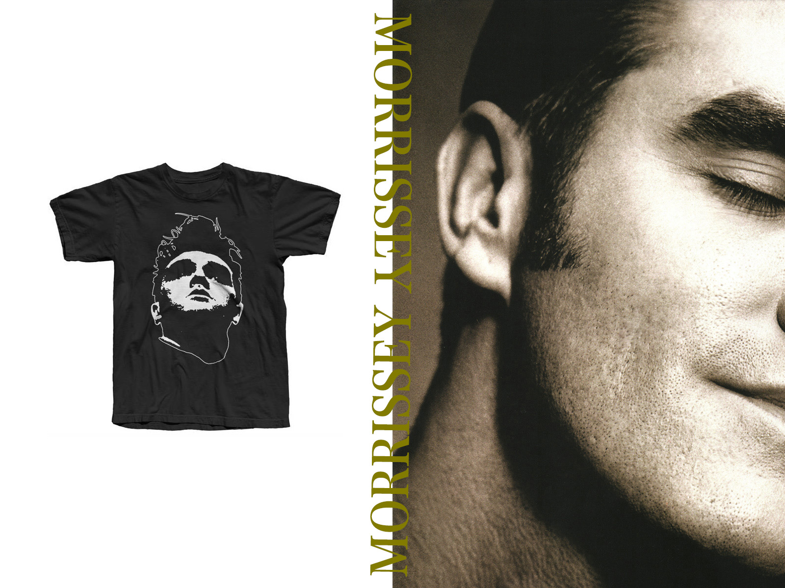 MORRISSEY Official T-Shirts