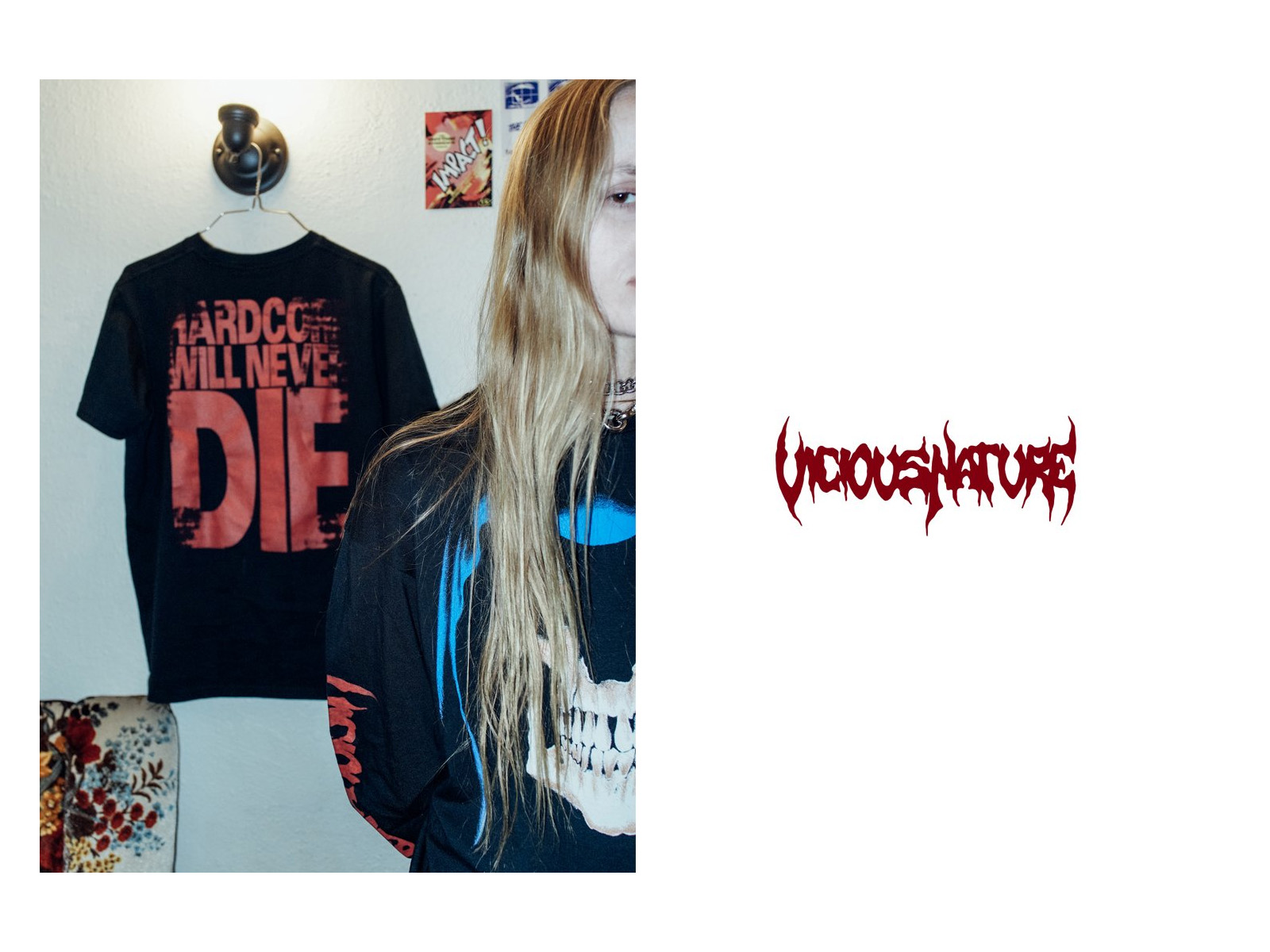 VICIOUS NATURE LONG-SLEEVE T-SHIRTS