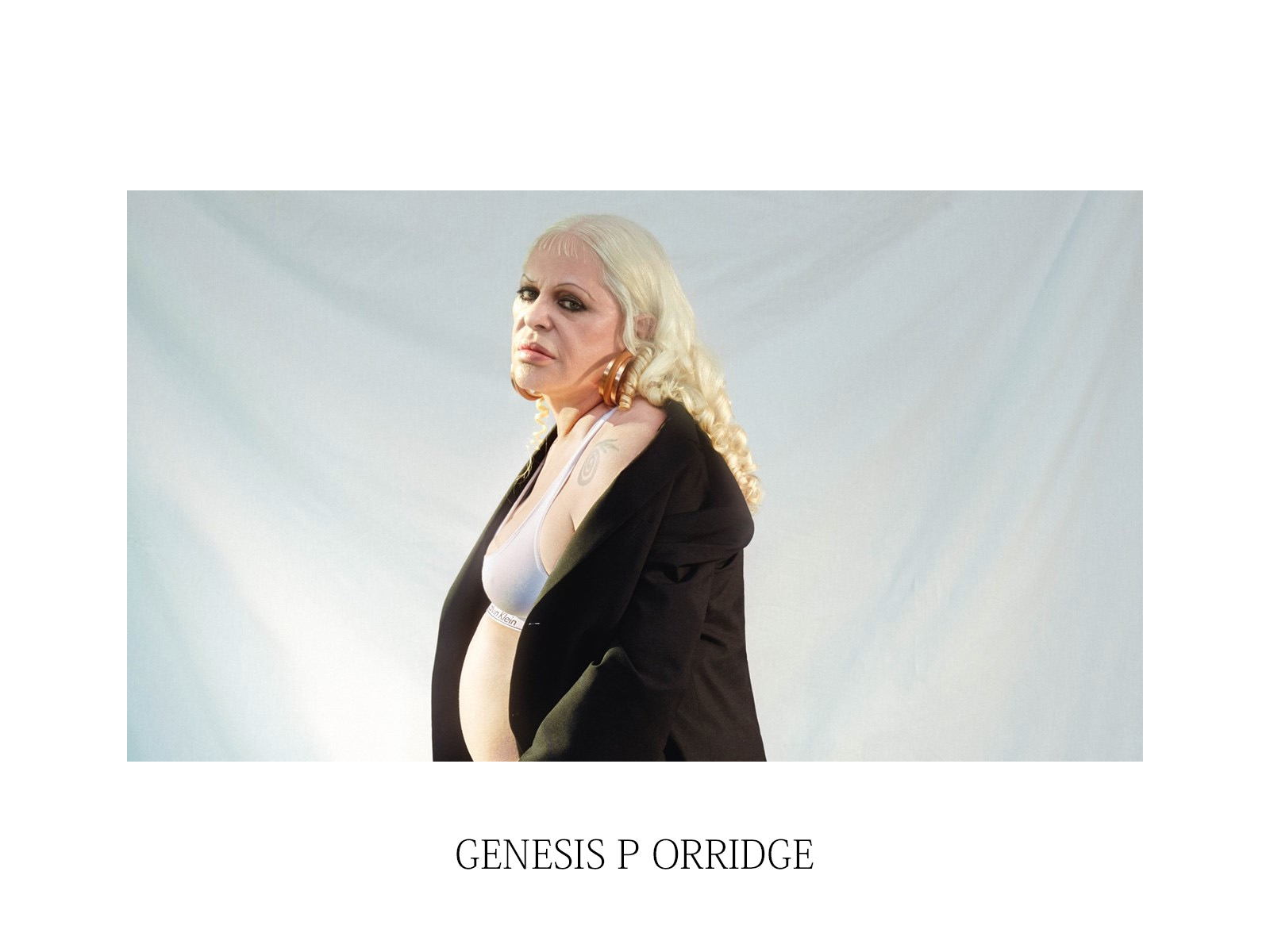 FASHION ICON – GENESIS P ORRIDGE