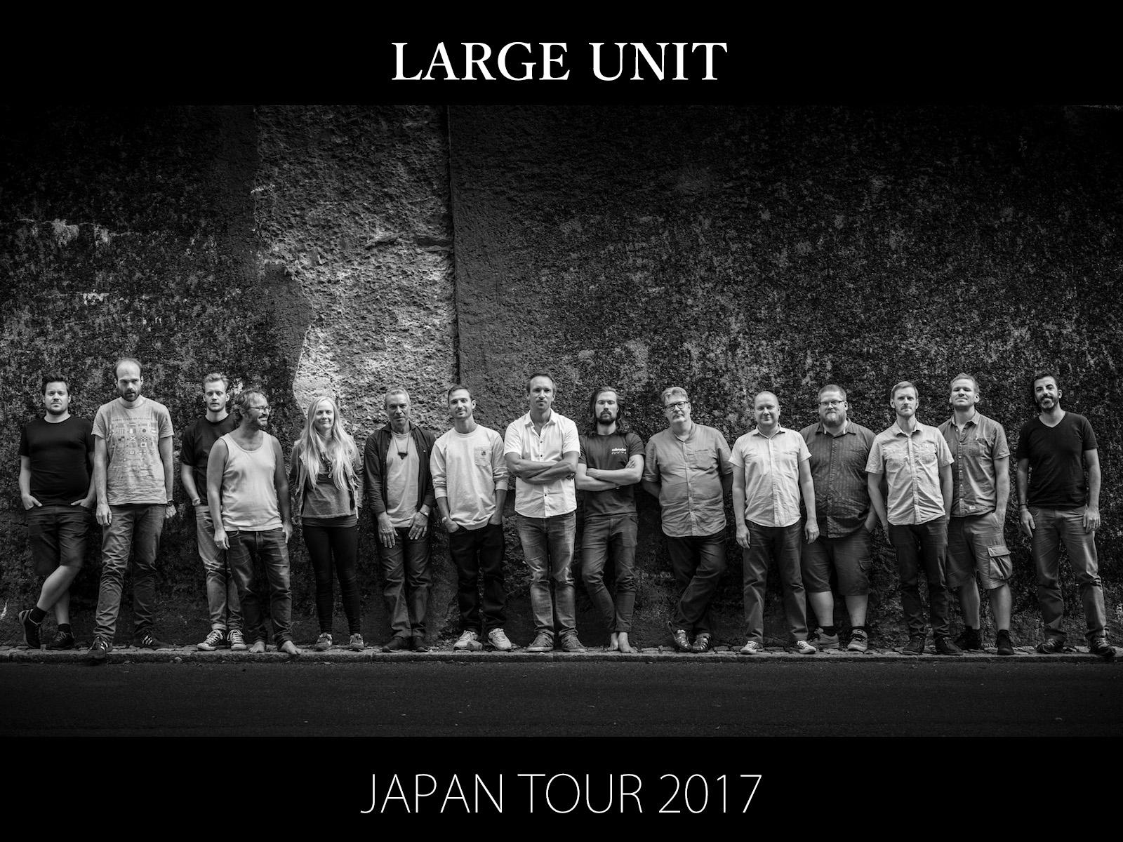 LARGE UNIT JAPAN TOUR 2017