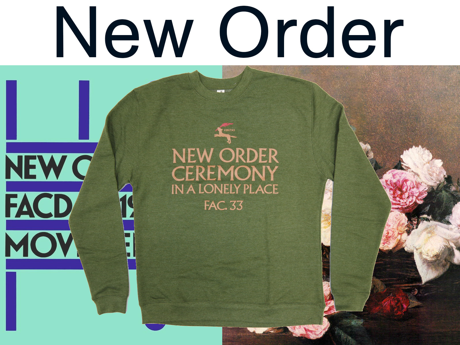 NEW ORDER – New Official Item
