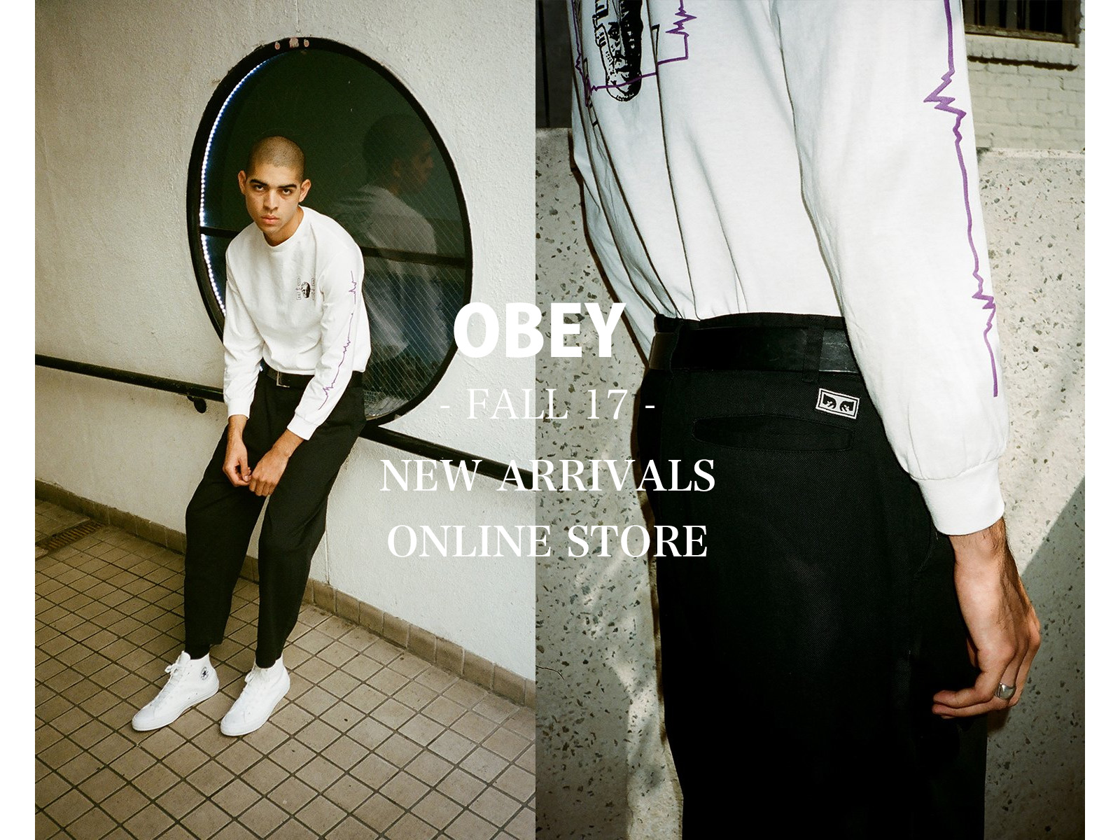 OBEY FALL17 New Arrivals Online Store