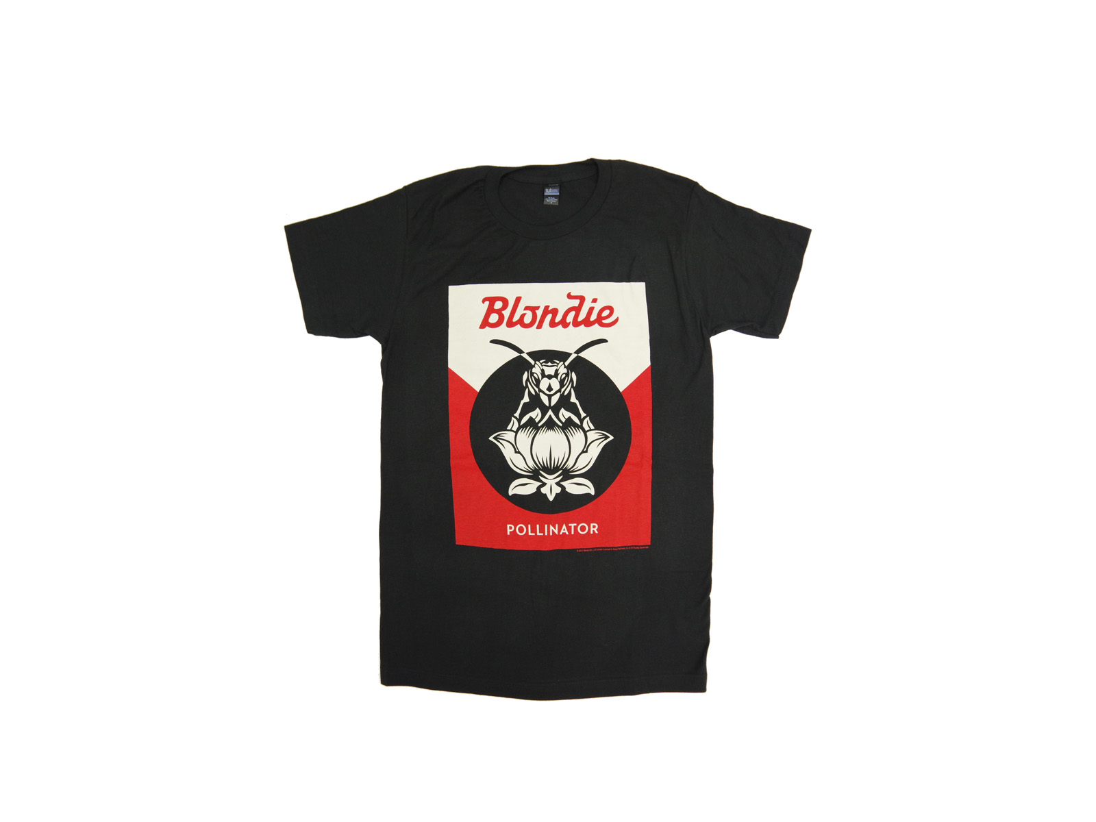 BLONDIE – New Official T-Shirts designed by Shepard Fairey