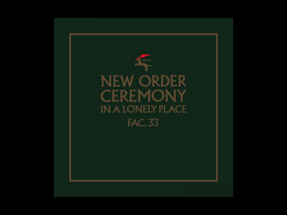 NEW ORDER CEREMONY