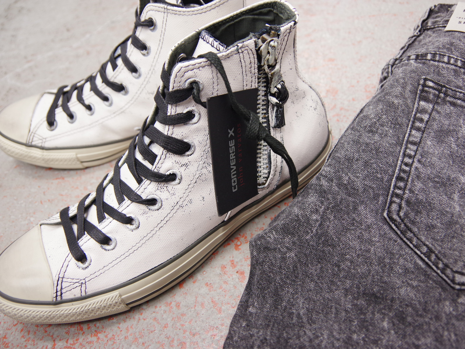 NEW ARRIVALS – CONVERSE × John Varvatos Shoes