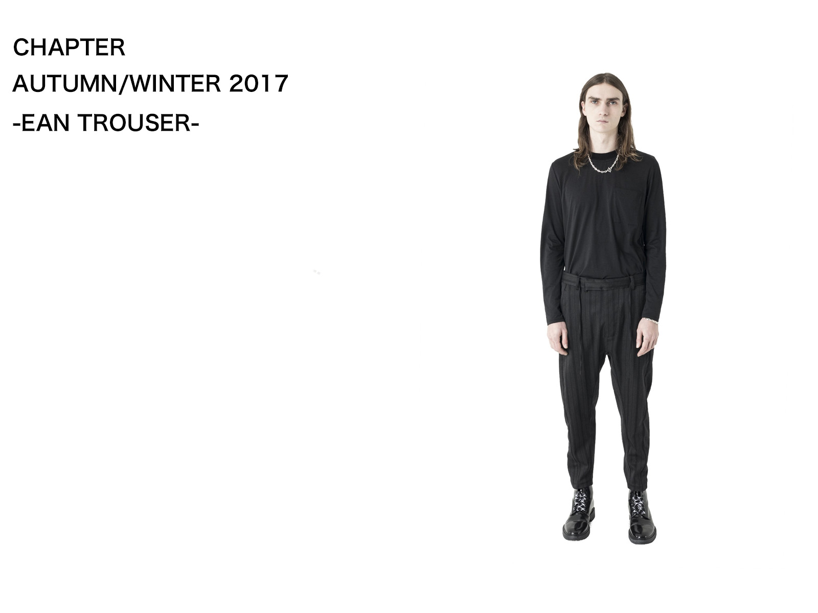 CHAPTER AUTUMN/WINTER 2017 – Ean Trouser
