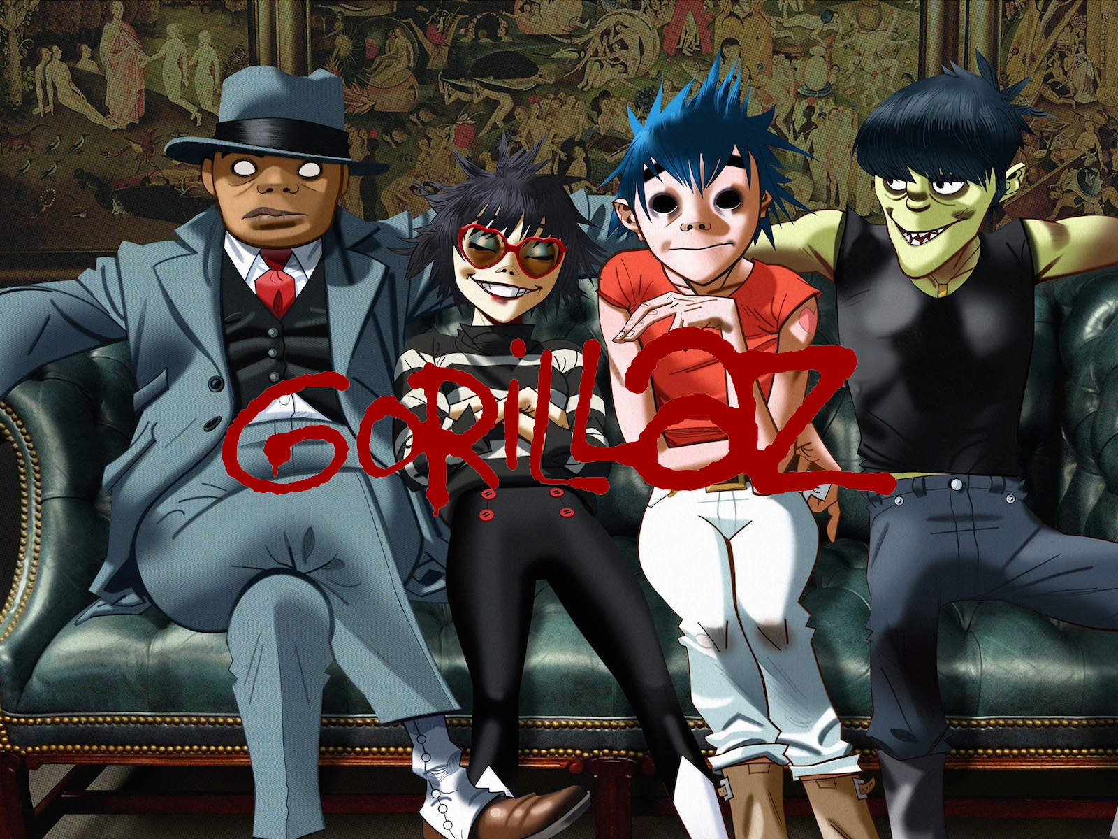 NEW ARRIVAL – GORILLAZ Official T-Shirts