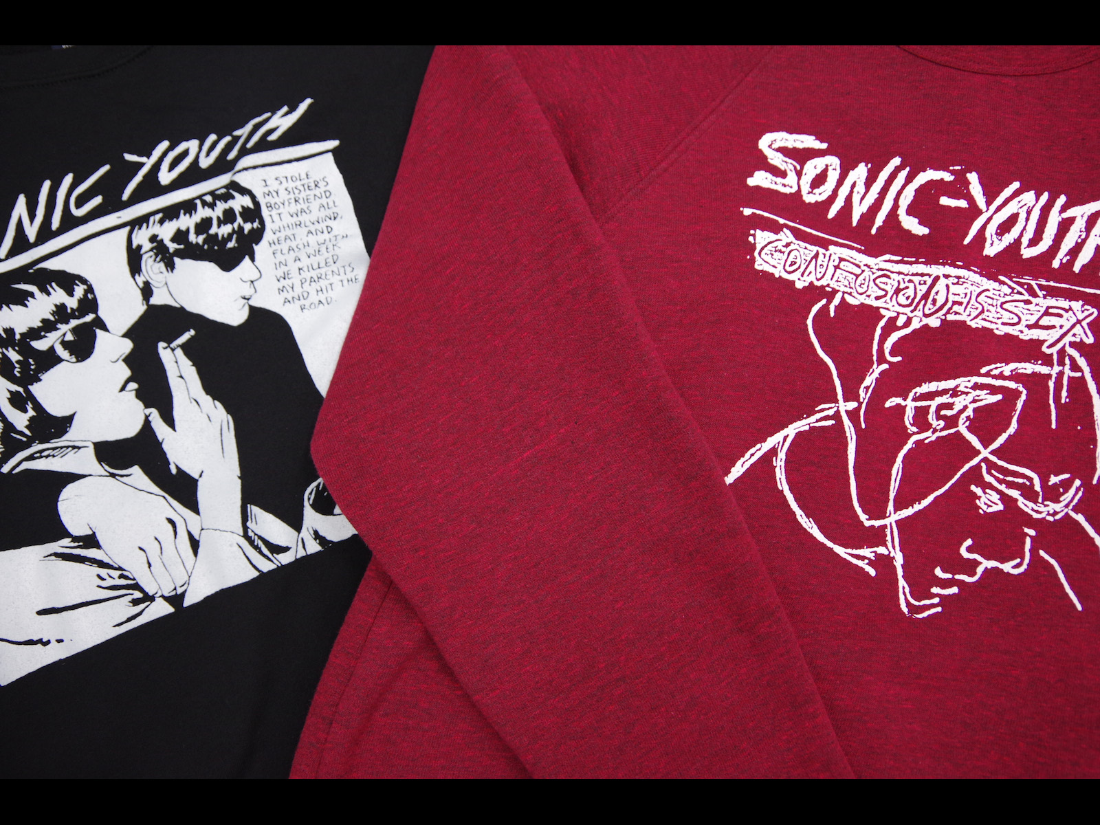 SONIC YOUTH – Official Sweater