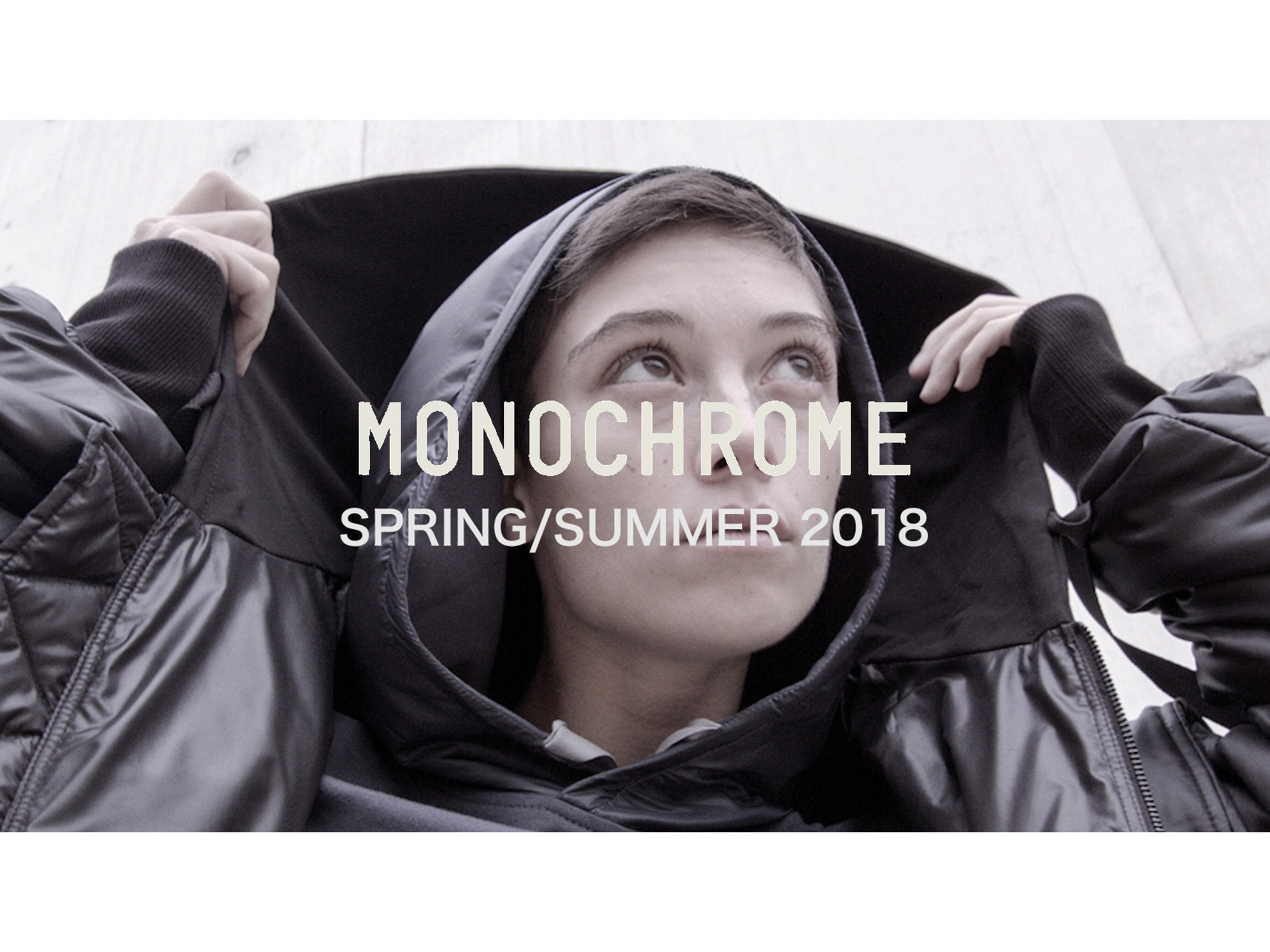 MONOCHROME SS18 – Inspired by Zaha Hadid