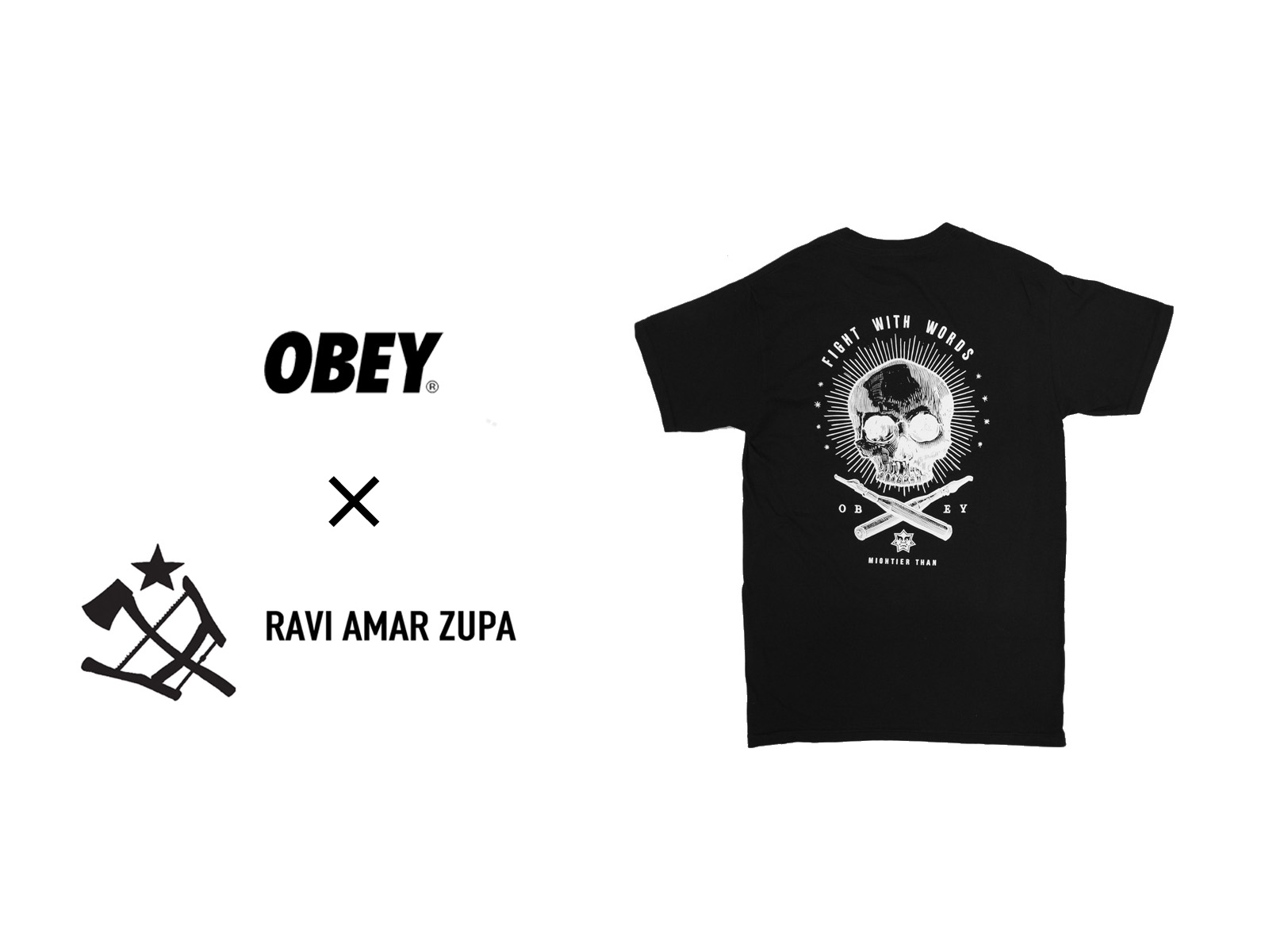 OBEY × RAVI ZUPA CAPSULE COLLECTION