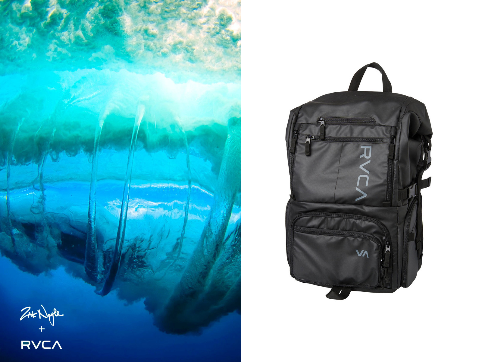RVCA × Zak Noyle Signature Bag 再入荷