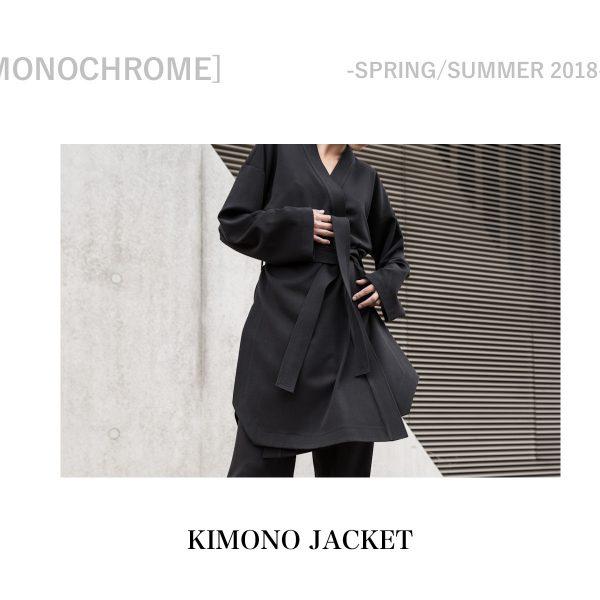 MONOCHROME – KIMONO JACKET