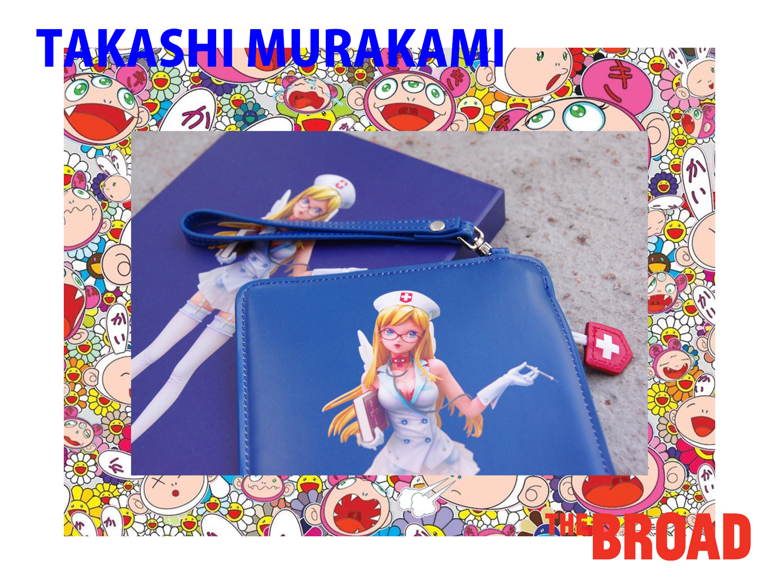THE BROAD × TAKASHI MURAKAMI – Limited Clutch Bag