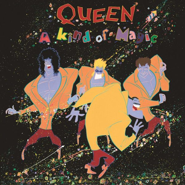 Queen 伝説のアルバム A Kind of Magic のオフィシャルTシャツがリリース