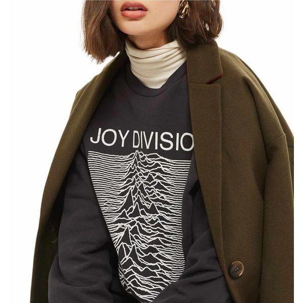 伝説のバンド Joy Division のオフィシャル スウェットトレーナー が再登場