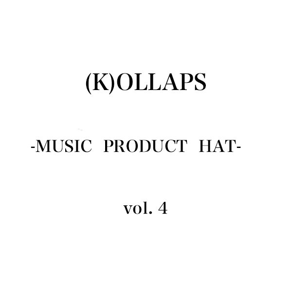 (K)OLLAPS MUSIC PRODUCT HAT 第4弾となるアイテムがリリース決定