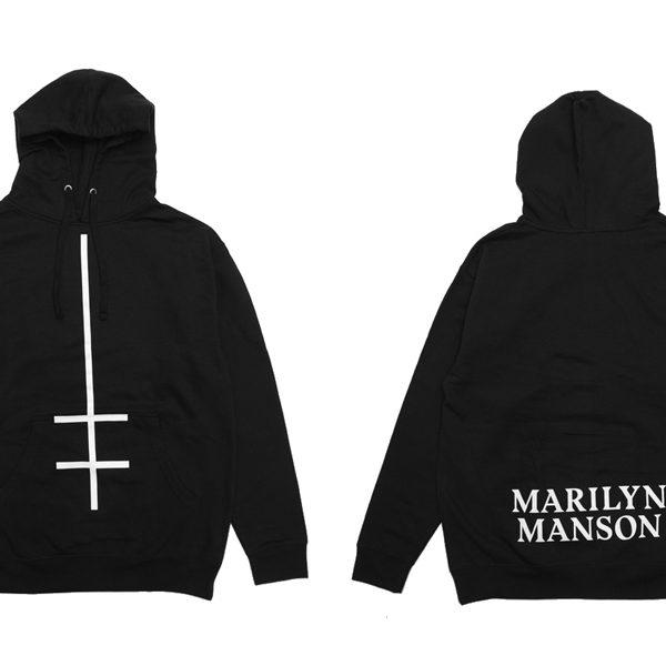 Marilyn Manson より待望のオフィシャルフーディーが到着