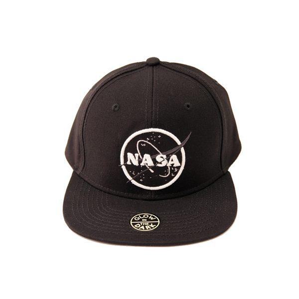 注目の NASA 公認による暗闇で光り輝くグローインザーダーク仕様の キャップ
