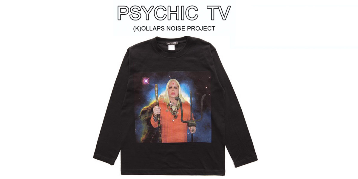 (K)OLLAPS × PSYCHIC TV L/STEE (K)OLLAPS NOISE PROJECT