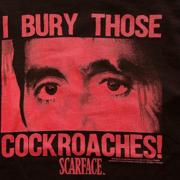 ヒップホップカルチャーからも支持される SCARFACE の新作ロンTが登場