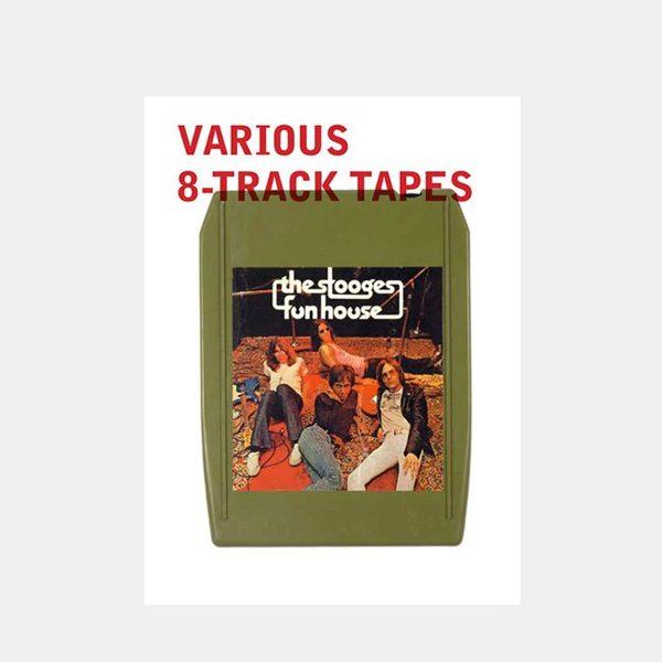 KILL YOUR IDOLS からパンクやニューウェイヴ他様々なジャンルの 8トラックテープ を特集した一冊がリリース