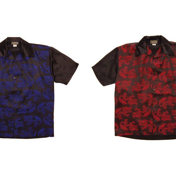 サマーセールの目玉アイテムとしてサテン素材を使用した オープンカラーシャツ にフォーカス