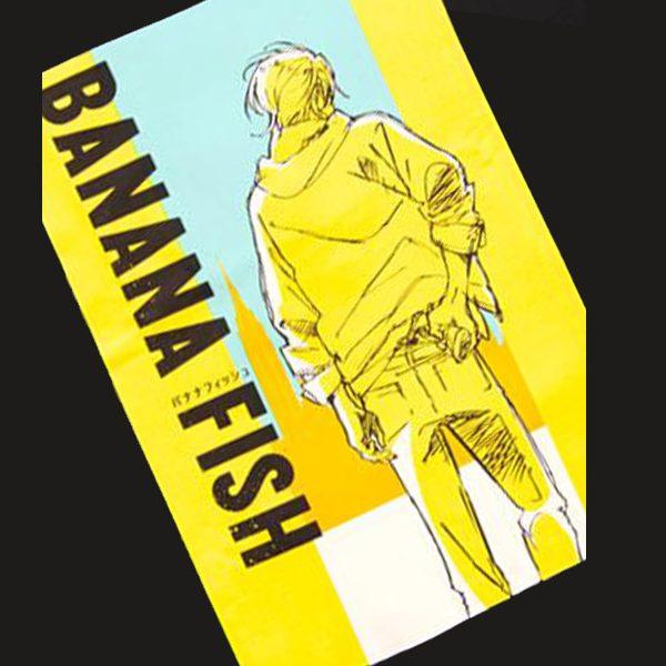 海外でも高い評価を獲得したハードボイルドなアクションコミック/アニメ BANANA FISH のTシャツが新登場