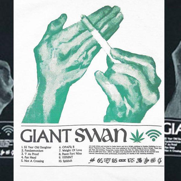 GIANT SWAN T-シャツ入荷しました