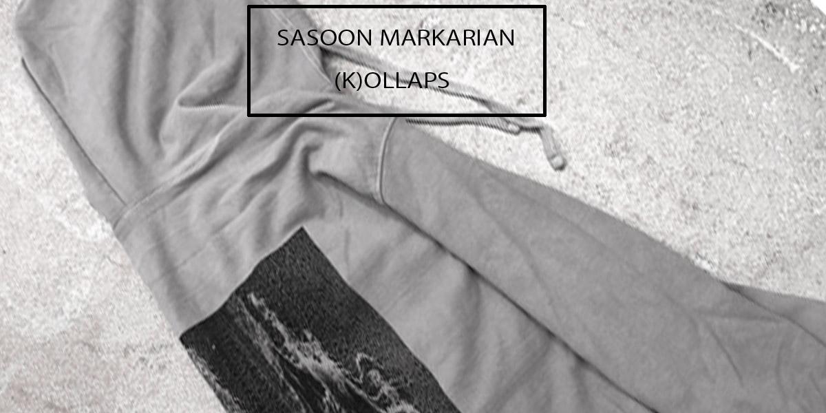 SASOON MARKARIAN×(K)OLLAPS-ZIP UP HOODIE