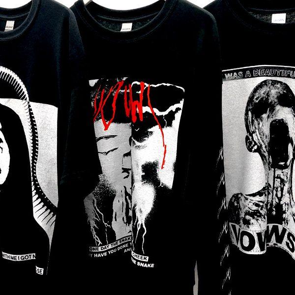 VOWWS 新作Tシャツ通販開始いたしました