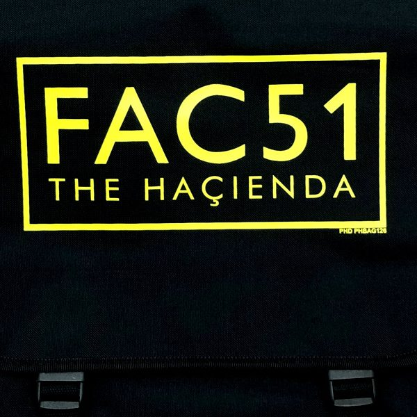THE HACIENDA OFFICIAL MESSENGER BAG