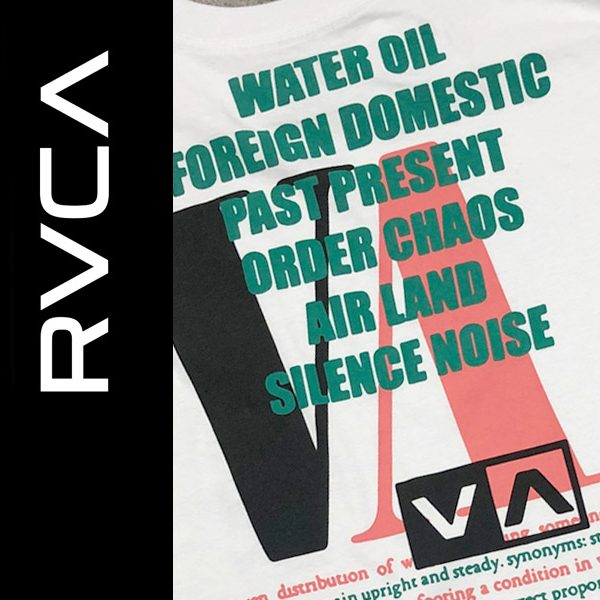 RVCA FALL 2020 入荷開始しました