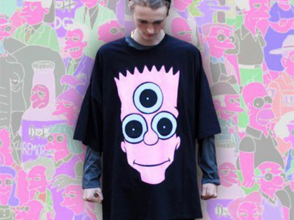 DESTROY CULTURE BART TEE