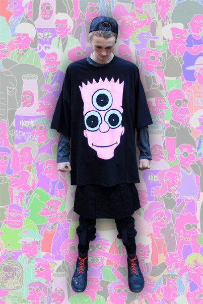 DESTROY CULTURE – BART Tシャツ
