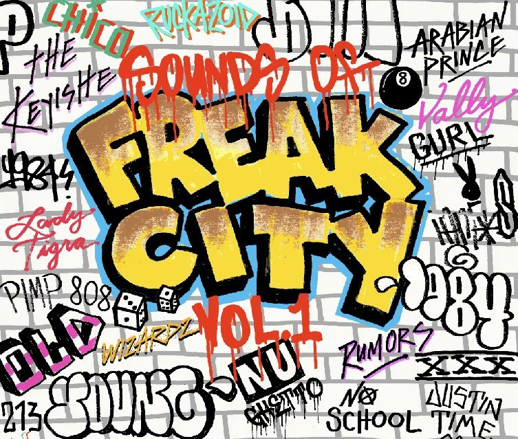FREAK CITY RECORDS VOL.1入荷しました!