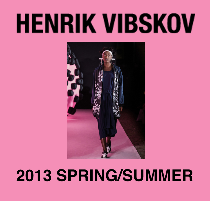 HENRIK VIBSKOV 2013S/S入荷
