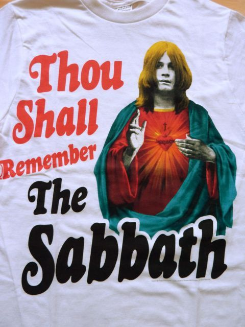 BLACK SABBATH限定オフィシャルT-SHIRTS