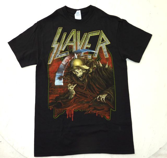 SLAYER JEFF HANNE MAN – 海外限定オフィシャルTシャツ