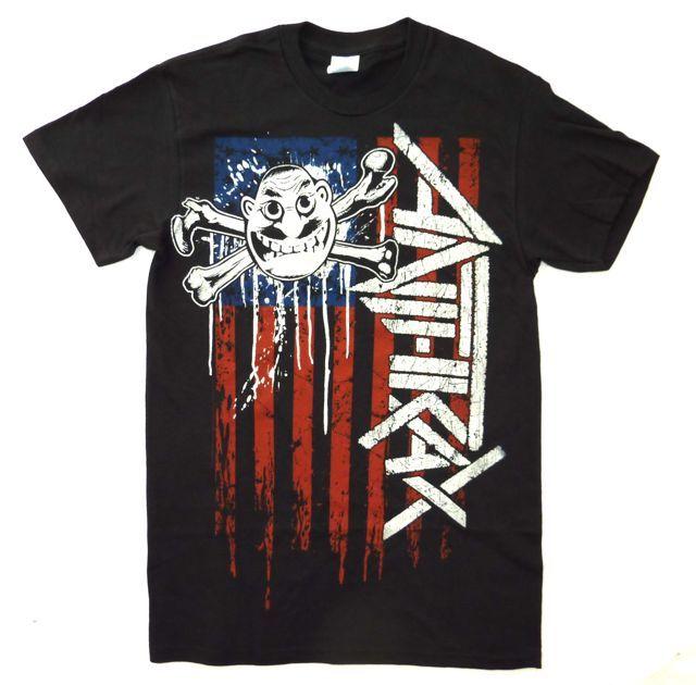 ANTHRAX オフィシャル Tシャツ